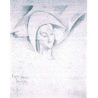 Head Of A Harlequin (CÃƑ©Zanne) By Juan Gris - Museum Canvas Print