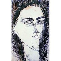 Modigliani - Head Of A Young Woman - Canvas Art Print