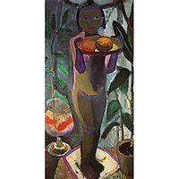 Child With Goldfish Glass By Paula Modersohn-Becker - Museum Canvas Print