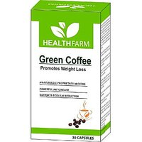 HealthFarm Green Coffee Bean Extract Capsules 30 Caps