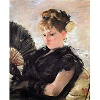 Woman With Subjects (Head Of A Girl) By Morisot - Fine Art Print