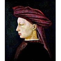 Portrait Of A Youth In Profile By Masaccio - Fine Art Print