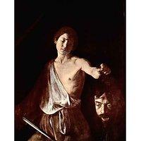 The Head Of Medusa, Tondo By Caravaggio - Canvas Art Print