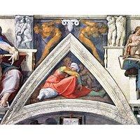 The Ancestors Of Christ - Asa By Michelangelo - Fine Art Print