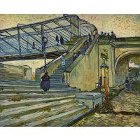The Bridge At Trinquetaille By Van Gogh - Canvas Art Print