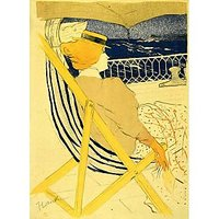 The Traveller 2 By Toulouse-Lautrec - Museum Canvas Print