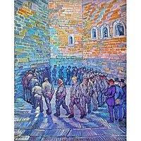 Prisoners Walking The Round_Lg By Van Gogh - Fine Art Print