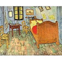 Van Gogh'S Bedroom By Van Gogh - Canvas Art Print