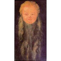 Head Of A Bearded Child By Durer - Fine Art Print