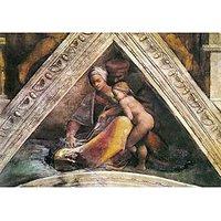 The Ancestors Of Christ - Family Of King Solomon By Michelangelo - Fine Art Print