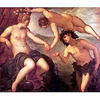Bacchus And Ariadne By Tintoretto - Museum Canvas Print