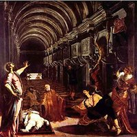 Discovery Of The Corpse Of St. Mark By Tintoretto - Fine Art Print