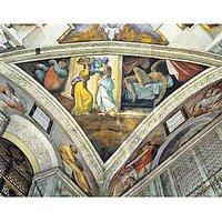 Head Of John Baptist 2 By Michelangelo - Fine Art Print