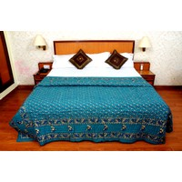 Jaipuri Blue Cotton Quilts & Comforters(FNR02006S)