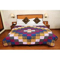 Jaipuri Multi Cotton Quilts & Comforters(FNR02012D)