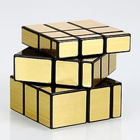 BANG BANG Mirror Cube - ShengShou Mirror Cube Gold 3x3x3 Magic Cube