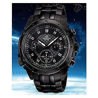 CASIO EDIFICE EF-535 AV BLACK DIAL SPORT CHRONOGRAPH MENS WATCH 100% NEW + BOX