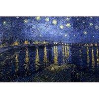 Starry Night Over The Rhone By Van Gogh - Fine Art Print