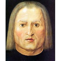 Head Of A Man Child By Durer - Canvas Art Print