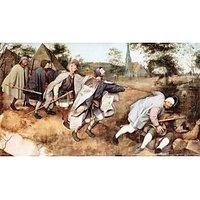 Parabal Of The Blind Men By Pieter Bruegel - Museum Canvas Print