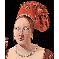 Woman'S Head By La Tour - Canvas Art Print