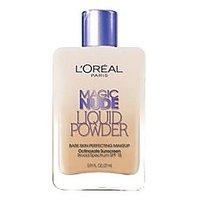 Magic Nude Liquid Powder Bare Skin Perfecting Makeup SPF 18 Natural Beige