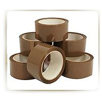 "2"" WIDE, 200Mtrs -PACK OF 5 ROLLS- ORIGINAL BROWN CELLO TAPE FOR PACKING,HOME USE"