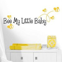 Wall Stickers Wall Quote Bee My Little Baby 2021