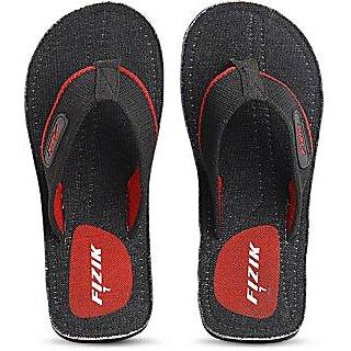 FIZIK Men's Flip Flop Black-Red Austin