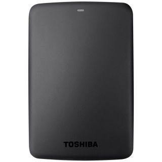 Toshiba 1TB HDD Portable USB 3.0 Basic Canvio (Black)