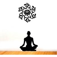 Wall Stickers Wall Decals The Mystic Man With Om 1003