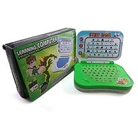 Original Ben10 English Learning Mini Computer Laptop Toy For Kids