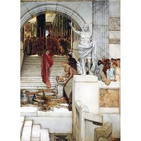 After The Audience By Alma-Tadema - Fine Art Print