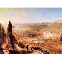Cicero At His Villa By Joseph Mallord Turner - Fine Art Print