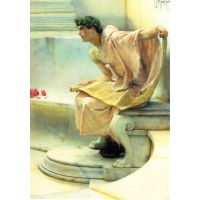A Reading Of Homer, Detail [2] By Alma-Tadema - Canvas Art Print