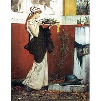 The Last Roses By Alma-Tadema - Fine Art Print