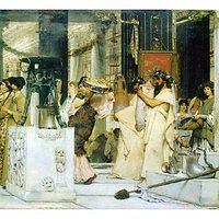 The Grape Harvest Festival, Detail [1] By Alma-Tadema - Fine Art Print