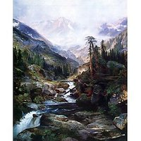 Mountain Of The Holy Cross By Thomas Moran - Museum Canvas Print