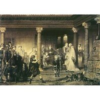 The Education Of Children Clovis By Alma-Tadema - Canvas Art Print