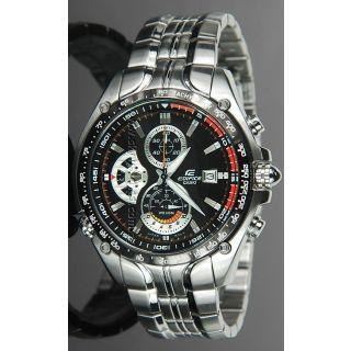 Casio Edifice EF- 543 D-1A Casio Edifice Mens Tachymeter Chronograph Watch