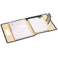 Trio C700 Conference Carry File With Pad A4 (Set Of 2, Beige)