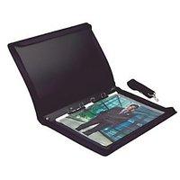 Trio RZ20A3 Refillable Zipper Designers Display File Bag 20 Pockets A3 (Set Of 1, Black)