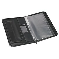 Trio UBF520 Urban Executive Folio 20 Pockets FC (Set Of 1, BKGY)