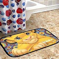 Disney Sparkk Home Exclusive Simba The Lion Printed Doormat