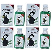 Wheezal Arnica Hair Oil 110 Ml- 4 Pack