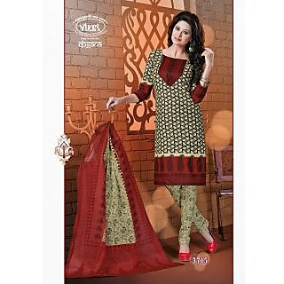 Kangana Cotton Printed Unstiched Dress Material - 74862214