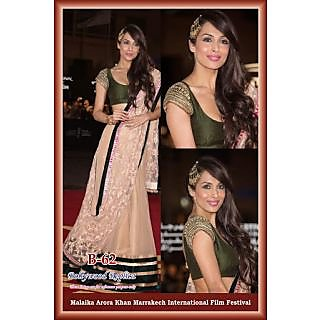Bollywood Replika Lehnga Malaika Arora Beige