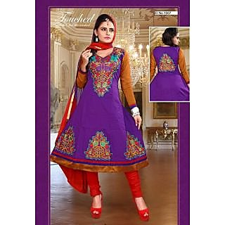 Cotton Long Salwar Suit - 74867256
