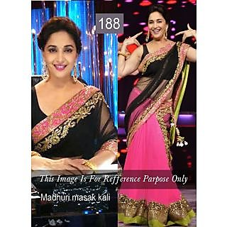 Madhuri Georgette Bollywood Designer Saree