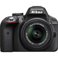 Nikon DSLR D3300 With AF-S 18-55 Mm VR Kit Lens